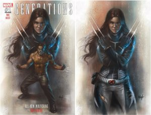 Generations Wolverine & All-New Wolverine #1 Two Cover Set Lucio Parrillo