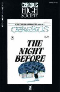 Cerebus High Society #11 FN; Aardvark-Vanaheim | save on shipping - details insi