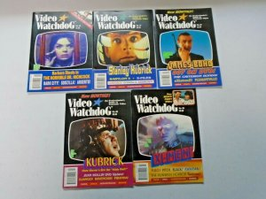 Video Watchdog Lot of 10 Different Later Issues Average 6.0 FN (1996-2001)