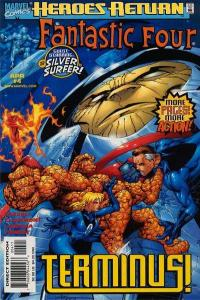 Fantastic Four (1998 series) #4, NM- (Stock photo)