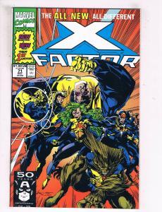 X-Factor #73 VF/NM Marvel Comics Comic Book X-Men Oct 1991 DE41 AD18