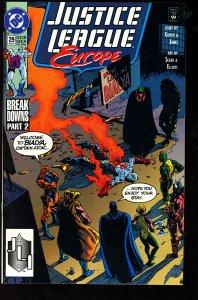 Justice League Europe #29 (1991)