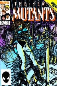 New Mutants (1983 series) #36, VF+ (Stock photo)