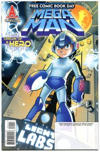 MEGA MAN - ORIGIN of a HERO, NM, FCBD, Archie Comics, Sci-fi, 2012
