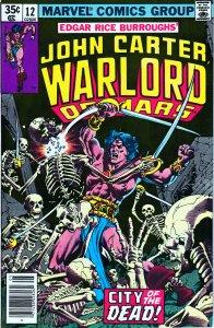 John Carter Warlord of Mars(Marvel) # 12