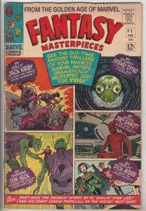 Fantasy Masterpieces #1 (Feb-66) FN+ Mid-High-Grade