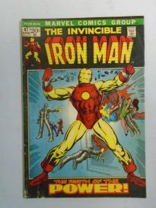 Iron Man #47 (1972 1st Series) 4.0/VG