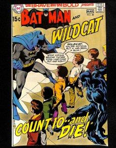 Brave And The Bold #88 Batman Neal Adams Art!