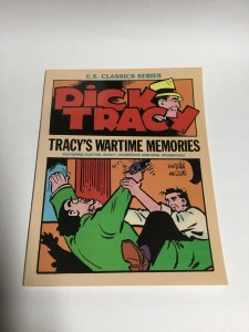 Dick Tracy Tracy's Wartime Memories Sc Softcover US Classics Series