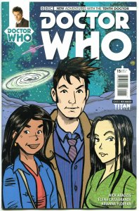 DOCTOR WHO #15 C, NM, 10th, Variant, Tardis, 2014, Titan, 1st, more DW in store