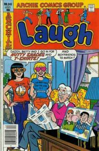 Laugh Comics #345, VF (Stock photo)