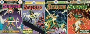 STALKER (1975) 1-4  Ditko & Wood  The COMPLETE Series!