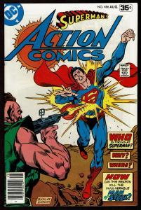 Action Comics #486  (Aug 1978 DC)  7.0 FN/VF