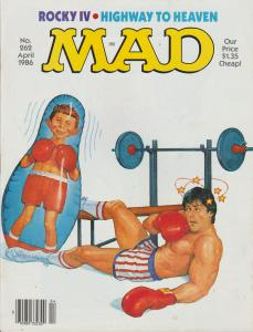 MAD MAGAZINE #262 - HUMOR COMIC MAGAZINE