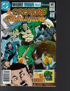 Weird War Tales #108 (Marvel, 1982) NM