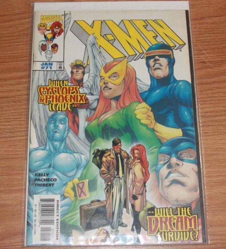 X-Men # 71 (Jan 1998, Marvel)jean and scott leave phoenix cyclops