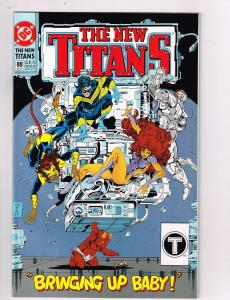 New Teen Titans (1984 2nd Series) #88 DC Comic Book Nightwing Starfire HH2