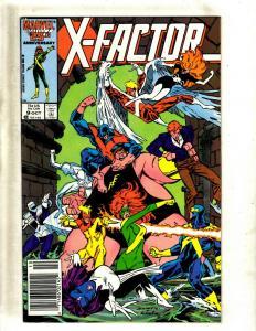 Lot of 12 X-Factor Marvel Comic Books #9 10 11 12 13 14 15 16 19 21 22 23 SM21