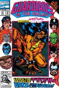 Guardians of the Galaxy (1990 series) #27, NM (Stock photo)
