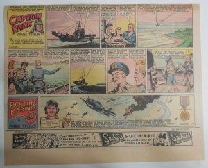 Captain Yank Sunday by Frank Tinsley from 7/15/1945 Size: 11 x 15 inches