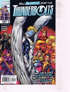 Lot Of 2 Marvel Comic Books Thunderbolts #27 and G.I.Joe #105 ON2