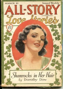 ALL-STORY LOVE STORIES   MARCH 21  1936--FATE SIMMONS--MARY FRANCES MORGAN--S...