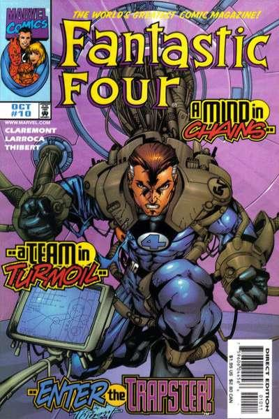 Fantastic Four (1998 series) #10, NM (Stock photo)