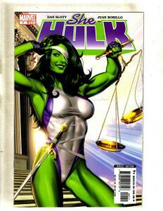 Lot of 9 She-Hulk Marvel Comic Books #1 2 3 4 5 6 7 7 8, Hulk HY3