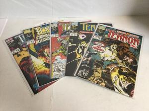 Terror Inc. 1-5 Vol 1 Lot Set Run Nm Near Mint