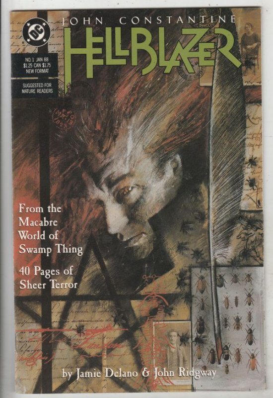Hellblazer #1 (Jan-88) VF/NM High-Grade John Constantine