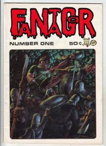 Fantagor #1 (Jan-70) FN+ Mid-High-Grade Razar