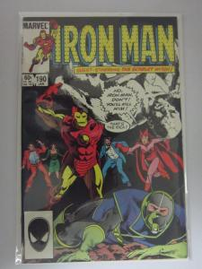 Iron Man #190 - Direct - 8.0 - 1985