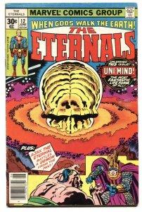 THE ETERNALS #12 1st Ultra-Mind-MARVEL 1977-comic book VG
