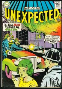TALES OF THE UNEXPECTED #85-1964-DC-SCI-FI VG