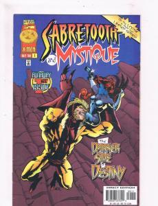 Sabretooth & Mystique #1 VF/NM 1st Print Marvel Comic Book X-Men DE3