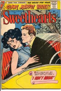 Sweethearts #49 1959-Charlton-Vince Colletta forced romance cover-FN-
