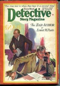DETECTIVE STORY MAGAZINE-MAR 5 1927-EDGAR WALLACE-POATE-LIVINGSTON-vg minus VG-