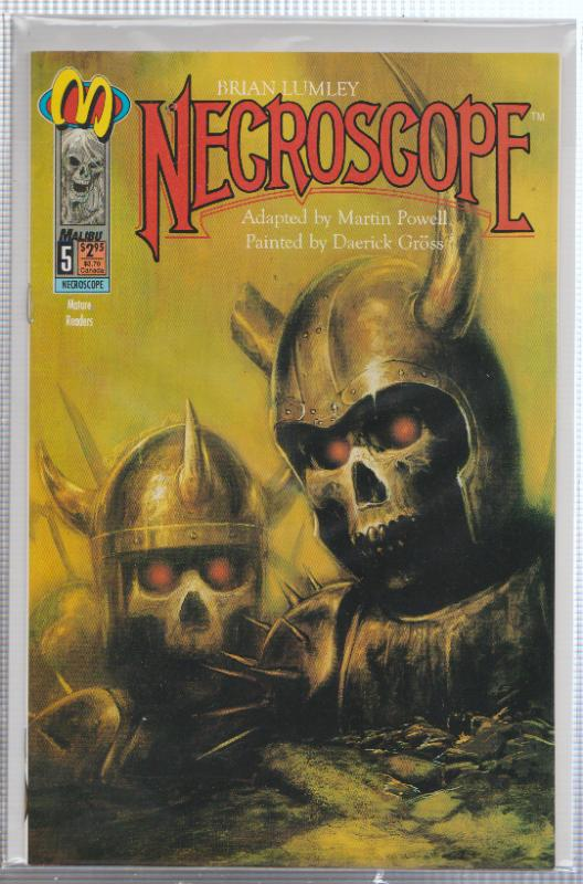 NECROSCOPE #5 - MALIBU - MATURE - FULL COLOR - MATURE