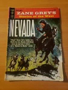 Zane Grey's Stories of the West, Nevada ~ GD - VERY GOOD VG ~ (1959, Gold Key)