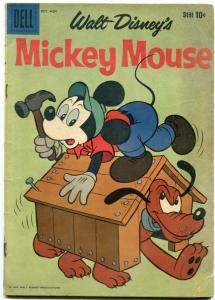 MICKEY MOUSE #68-DELL-1959-WALT DISNEY COMIC- VG
