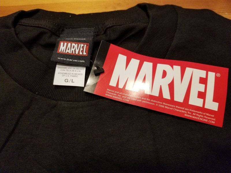 Wolverine Deadly Genesis T-Shirt L NOS w/ Tags  Marvel