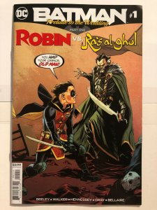 Batman Prelude to the Wedding Robin vs Ra's Al Ghul #1