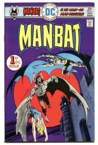 Man-Bat #1-1976 Comic Book-Batman-DC VF+