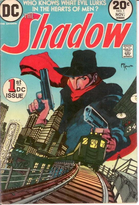 SHADOW (1973) 1 VG+  (KALUTA ) Nov. 1973 COMICS BOOK