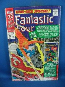 FANTASTIC FOUR ANNUAL 4 VG 1966