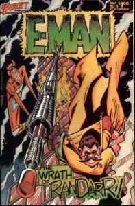 E-Man Comics #14, VF (Stock photo)