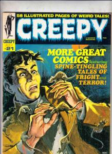 Creepy Magazine #21 (Jul-68) VF/NM High-Grade