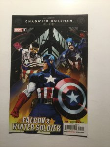 Falcon And Winter Soldier 3 Near Mint Nm Marvel