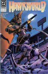 Hawkworld (1990 series) #9, VF (Stock photo)
