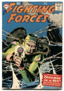 Our Fighting Forces #33 1958--DC silver age war coming F/VF